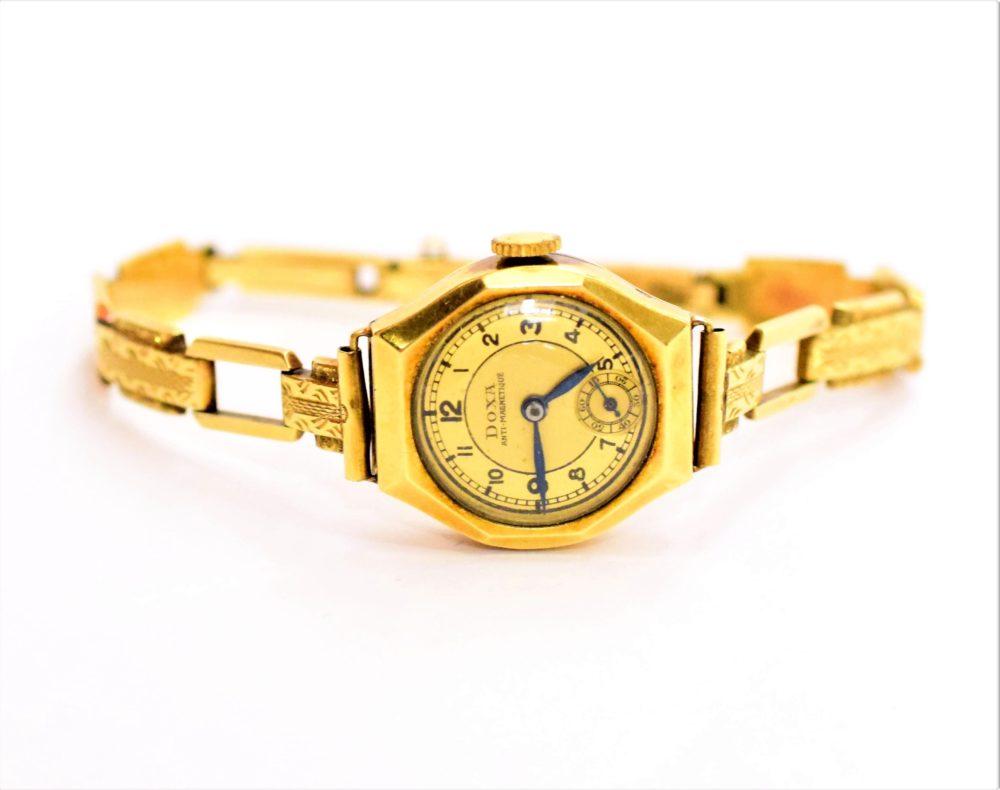 13d6cec8c Zlaté hodinky DOXA - Antique-Patrice